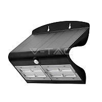 Світильник автономний вуличний LED Solar V-TAC, 6.8 W, SKU-8279, 4000К, датчик руху, чорний