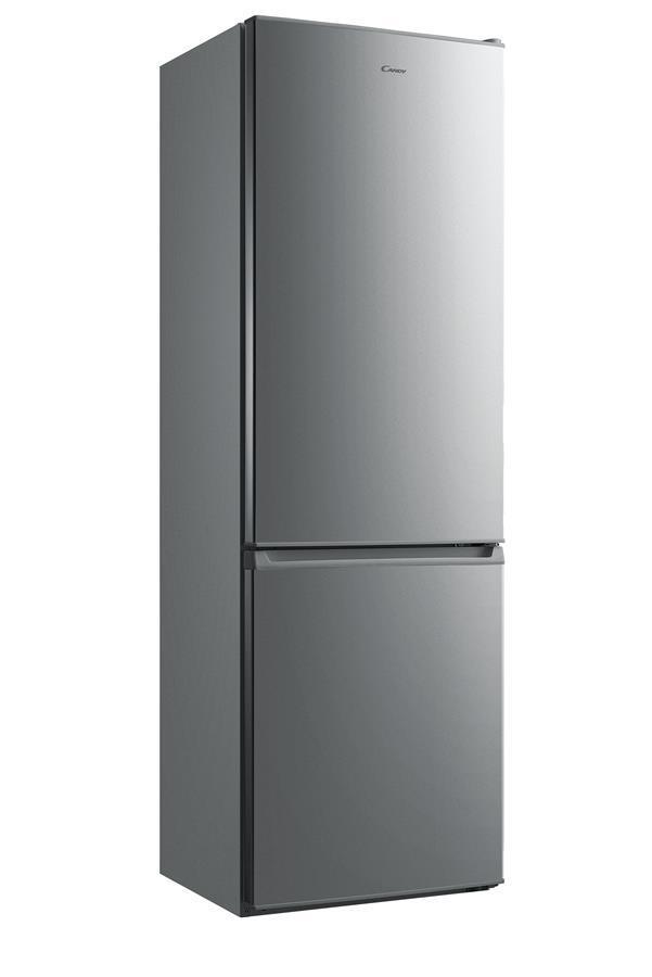 Холодильник Candy CMDCS6182X09 ниж. мороз./188см/271л/A+/Статична/Нержавіюча сталь