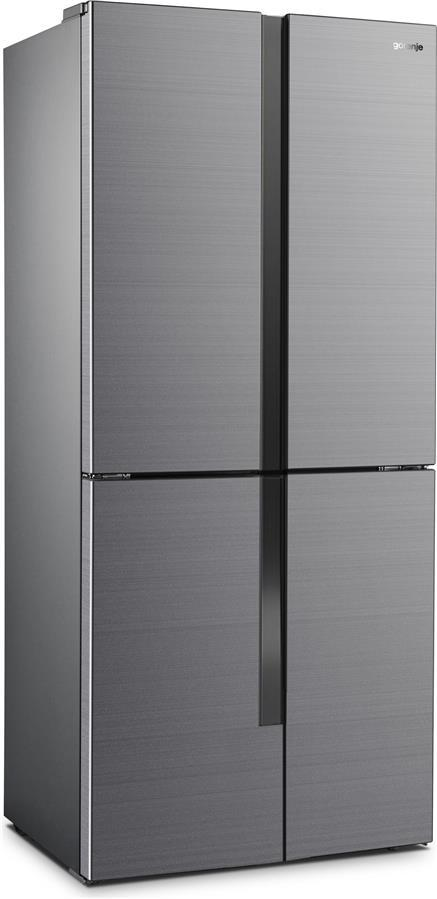 Холодильник 4-х-двірний Gorenje NRM8181MX