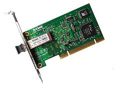 Мережева карта D-Link DGE-550SX/LC 1x1000BaseSX, MM, PCI