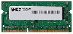 Пам'ять до ноутбука AMD DDR3 8GB 1600 1.5 V SO-DIMM