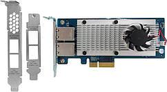 Мережева карта QNAP Dual-port 10Gbase-T Network Card