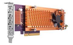 Адаптер QNAP Dual M. 2 22110/2280 PCIe SSD NVMe