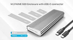 Корпус для SSD M. 2 PCIe NVMe CHIEFTEC CEB-M2C USB 3.1 Gen2 Type-C (2230/2242/2260/2280)