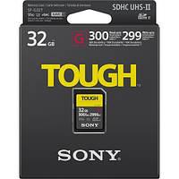 Карта пам'яті Sony 32GB SDHC C10 UHS-II U3 V90 R300/W299MB/s Tough