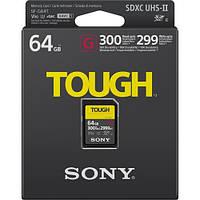Карта пам'яті Sony SDXC 64GB C10 UHS-II U3 V90 R300/W299MB/s Tough