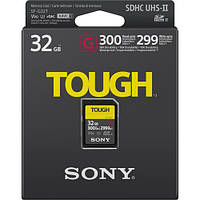 Карта пам'яті Sony SDHC 32GB C10 UHS-II U3 V90 R300/W299MB/s Tough