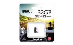 Карта пам'яті Kingston 32GB microSDHC C10 UHS-I R90/W45MB/s High Endurance