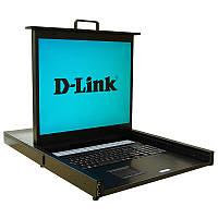 KVM-перемикач D-Link DKVM-IP16LCD 16x