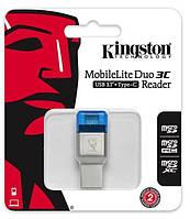 Кардрідер Kingston USB 3.0 microSD USB Type A/C