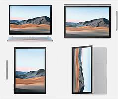 """Ноутбук Microsoft Surface Book 3 13.5"""" QHD/Intel i7-1065G7/32/1024F/GTX165-4GB/W10P/Silver"""
