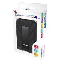 """Жорстку диск ADATA 2.5"""" USB 3.1 4TB HD710 Pro захист IP68 Black"""