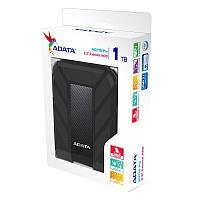 """Жорстку диск ADATA 2.5"""" USB 3.1 1TB HD710 Pro захист IP68 Black"""