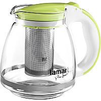 Чайник Lamart LT7028 скляний 1,5 л