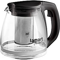 Чайник Lamart LT7025 скляний 1,1 л