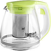 Чайник Lamart LT7026 скляний 1,1 л
