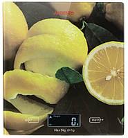 Ваги кухонні Ardesto SCK-893LEMON