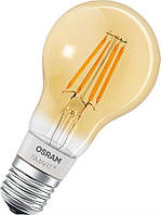 Лампа світлодіодна OSRAM SMART LED Е27 5.5-60W 2700K 220V A60 FILAMENT GOLD Bluetooth