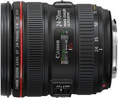 Об'єднання єктив Canon EF 24-70mm f/4.0 L IS USM