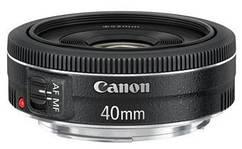 Об'єднання єктив Canon EF 40mm f/2.8 STM