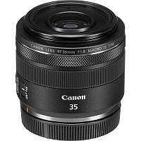 Об'єднання єктив Canon RF 35mm f/1.8 MACRO IS STM