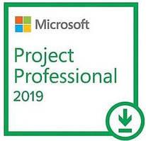 Програмний продукт Microsoft Project Pro 2019 Win All Lng PKL Online DwnLd C2R NR