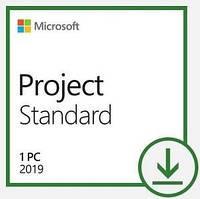 Програмний продукт Microsoft Project Standard 2019 Win All Lng PKL Online DwnLd C2R NR