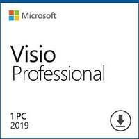 Програмний продукт Microsoft Visio Pro 2019 Win All Lng PKL Online DwnLd C2R NR