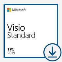 Програмний продукт Microsoft Visio Std 2019 Win All Lng PKL Online DwnLd C2R NR