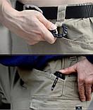 Брюки тактические ESDY stretch multipocket серые, фото 7