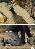 Брюки тактические ESDY stretch multipocket серые, фото 3