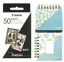 """Комплект папери Canon ZINK™ 2""""x3"""" ZP-2030 (50шт) + фотоальбом + фото рамка"""