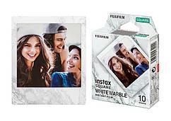 Фотопапір Fujifilm INSTAX SQUARE MARBLE WHITE (86х72мм 10шт)