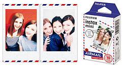 Фотопапір Fujifilm COLORFILM INSTAX MINI AIRMAIL (54х86мм 10шт)