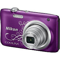 Цифр. фотокамера Nikon Coolpix A100 Black Lineart