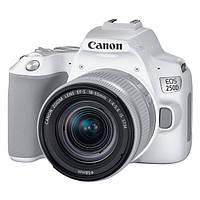 Цифр. дзеркальна фотокамера Canon EOS 250D kit 18-55 IS STM White