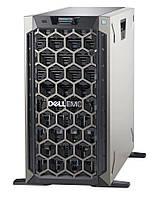 Сервер Dell, EMC T340, Xeon E-2246G 6C/12T, 16GB, PERC H330 no HDD 8LFF HP, dvd-rw, iDRAC9Ent, RPS 495W, 3Yr,