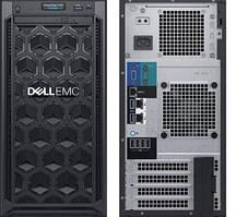 Сервер Dell, EMC T140, 4LFF NHP, Xeon E-2224 4C/4T, 16GB, H330, 1x1TB SATA, DVD-RW, iDRAC9 Bas, 3Yr, Twr