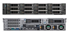 Сервер Dell, EMC R740xd 18LFF, no CPU, no RAM, no HDD, H730P, 2x10GbE BASE-T, iDRAC9Ent, 2x750W RPS, 3Yr, Rck