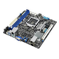 Материнська плата серверна ASUS P11C-I s1151 C242, 2xDDR4, Dual Intel® Gigabit Ethernet mITX