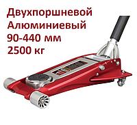 Torin T820010L. 2 5т. 90-440 мм. Домкрат низкий, гидравлический, подкатной, профессиональный, низкоподхватный