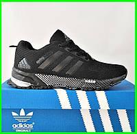 Кроссовки Adidas Spring Черные Мужские Адидас (размеры: 41,42,43,44,45,46) Видео Обзор