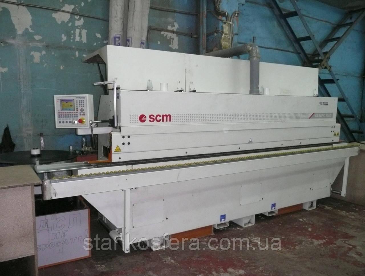Кромкооблицовочный станок SCM Olimpic K500 б/у 2008 года