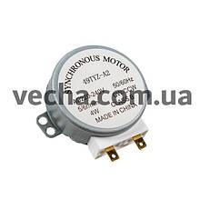 Двигун піддону для СВЧ печі 49TYZ-A2 5/6r/min 240V 4W H(шток)=14mm