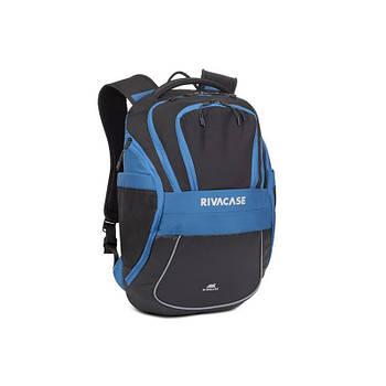 "Рюкзак Rivacase 5225 Black/Blue 15.6"""
