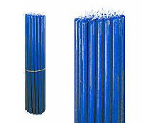 Свечи восковые синие, номерные (№10) (1 кг.)