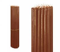 Свечи восковые коричневые, номерные (№10) (1 кг.)