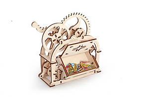 Механические 3D пазлы UGEARS - «Механическая шкатулка», фото 2