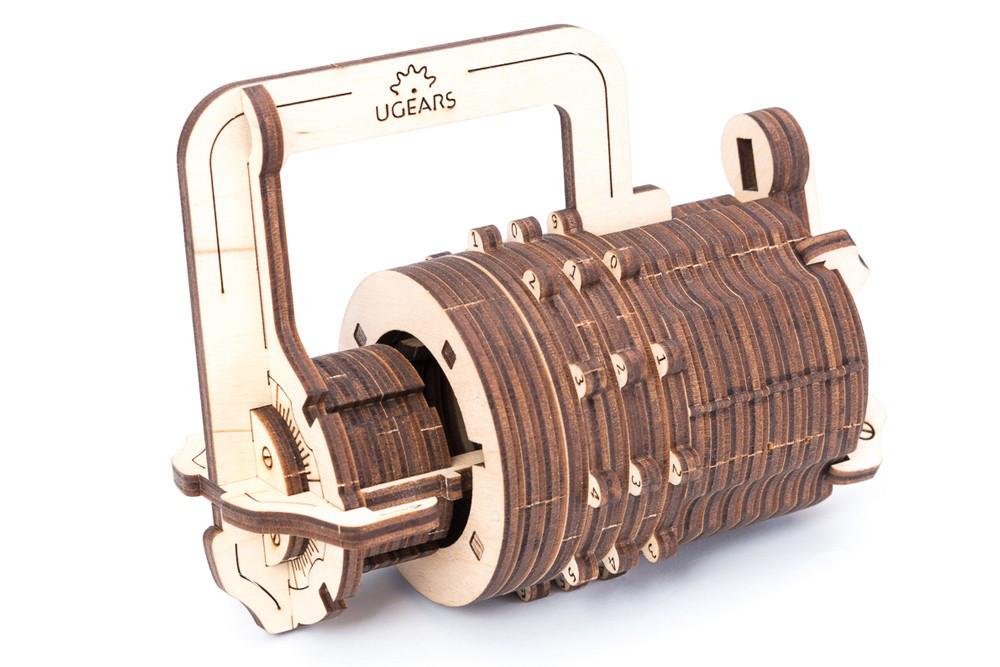 Механические 3D пазлы UGEARS - «Кодовый замок»
