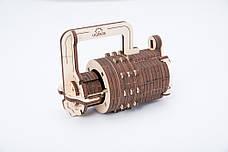 Механические 3D пазлы UGEARS - «Кодовый замок», фото 3